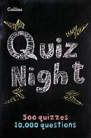 Collins Quiz Night: 10,000 original questions in 500 quizzes (Collins Puzzle Books)