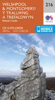 Welshpool & Montgomery / Y Trallwng a Trefaldwyn Map | Bishop's Castle | Ordnance Survey | OS Explorer Map 216 | Wales | Walks | Hiking | Maps | Adventure