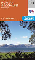 OS Explorer Map 383 Morvern and Lochaline OS Explorer Paper Map