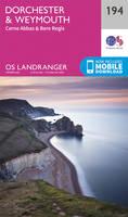 Landranger (194) Dorchester & Weymouth, Cerne Abbas & Bere Regis (OS Landranger Map)