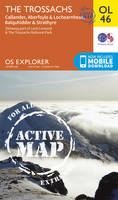 The Trossachs Map | Weatherproof | Callander, Aberfoyle & Lochearnhead, Balquhidder & Strathyre | Ordnance Survey | OS Explorer Active Map OL46 | ... | Maps | Adventure (OS Explorer Map Active)