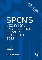 Spon's Mechanical and Electrical Services Price Book 2021 (Spon's Price Books)