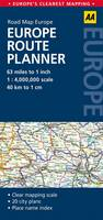 AA Road Map Europe Route Planner