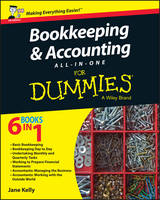 Bookkeeping and Accounting All-in-One For Dummies - UK, UK Edition