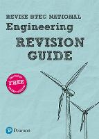 Pearson REVISE BTEC National Engineering Revision Guide: (with free online Revision Guide) for home learning, 2021 assessments and 2022 exams (REVISE BTEC Nationals in Engineering)