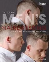 Men's Hairdressing: Traditional and Modern Barbering