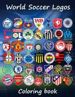 World Soccer Logos: World football team badges of the best clubs in the world, this coloring book is different as in the colored badges are on the ... 80 teams to enjoy. Great for kids and adults.