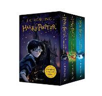 Harry Potter 1–3 Box Set: A Magical Adventure Begins: J.K. Rowling - 3 book set (vol 1-3)