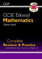 New 2021 GCSE Maths Edexcel Complete Revision & Practice: Higher inc Online Ed, Videos & Quizzes: perfect for catch-up and the 2022 and 2023 exams (CGP GCSE Maths 9-1 Revision)