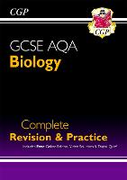 New GCSE Biology AQA Complete Revision & Practice includes Online Ed, Videos & Quizzes (CGP GCSE Biology 9-1 Revision)