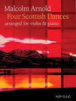Four Scottish Dances Op.59 (Violin/Piano)