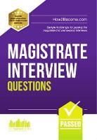 Magistrate Interview Questions: Sample insider tips for passing the magistrate first and second interviews.: How to Pass the Magistrate First and Second Interviews: 1 (Testing Series)