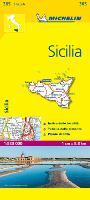 Michelin Sicilia 1:220.000 Local Map (Michelin Local Maps, 365)