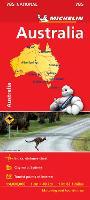Australia - Michelin National Map 785: Map (Michelin National Maps, 785)