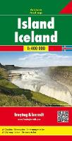 Iceland Road Map (Country Road & Touring): Wegenkaart 1:400 000
