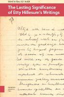 The Lasting Significance of Etty Hillesum's Writings